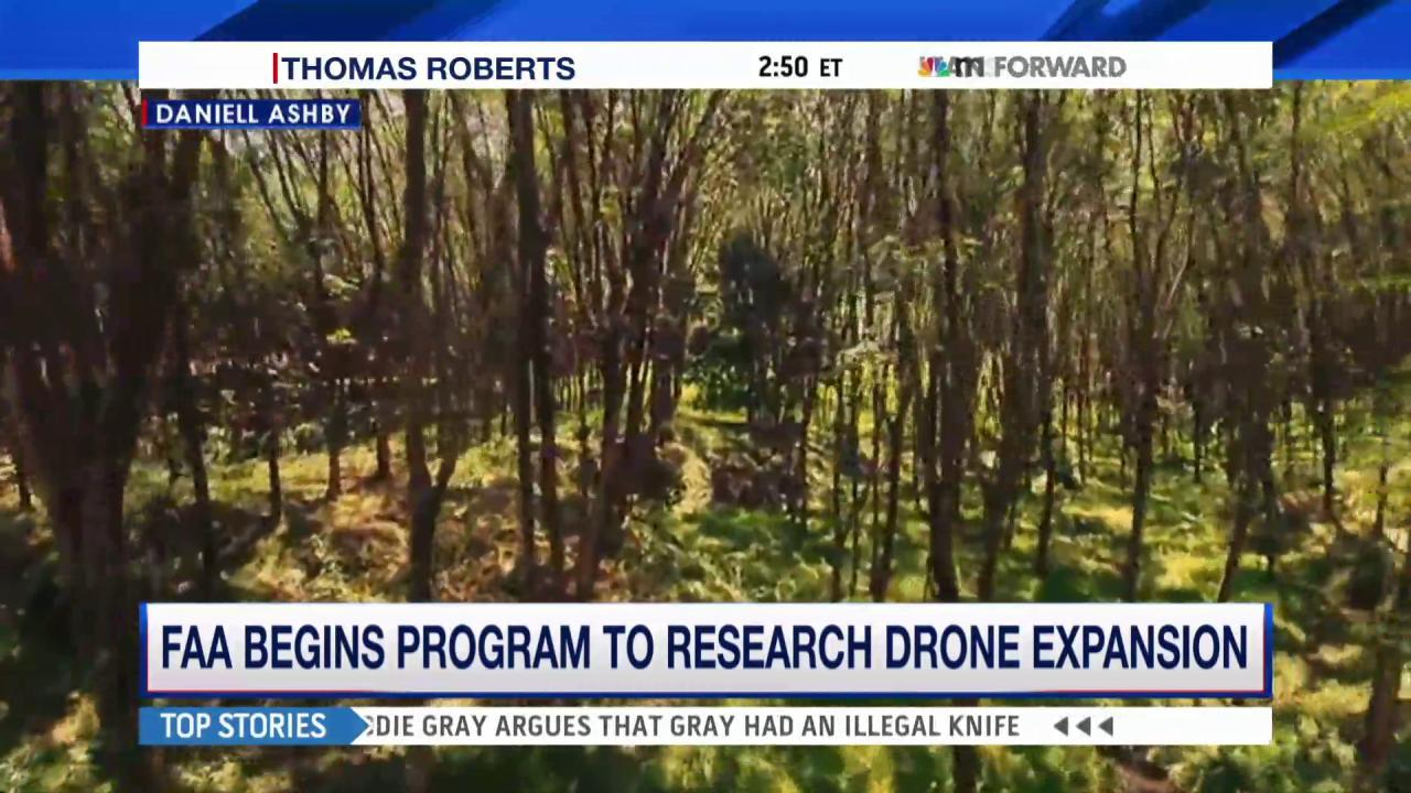 FAA begins program to research drone...