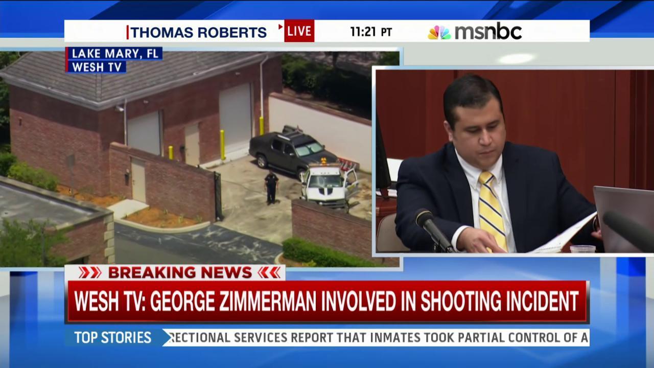 Police: Zimmerman suffers gunshot wound