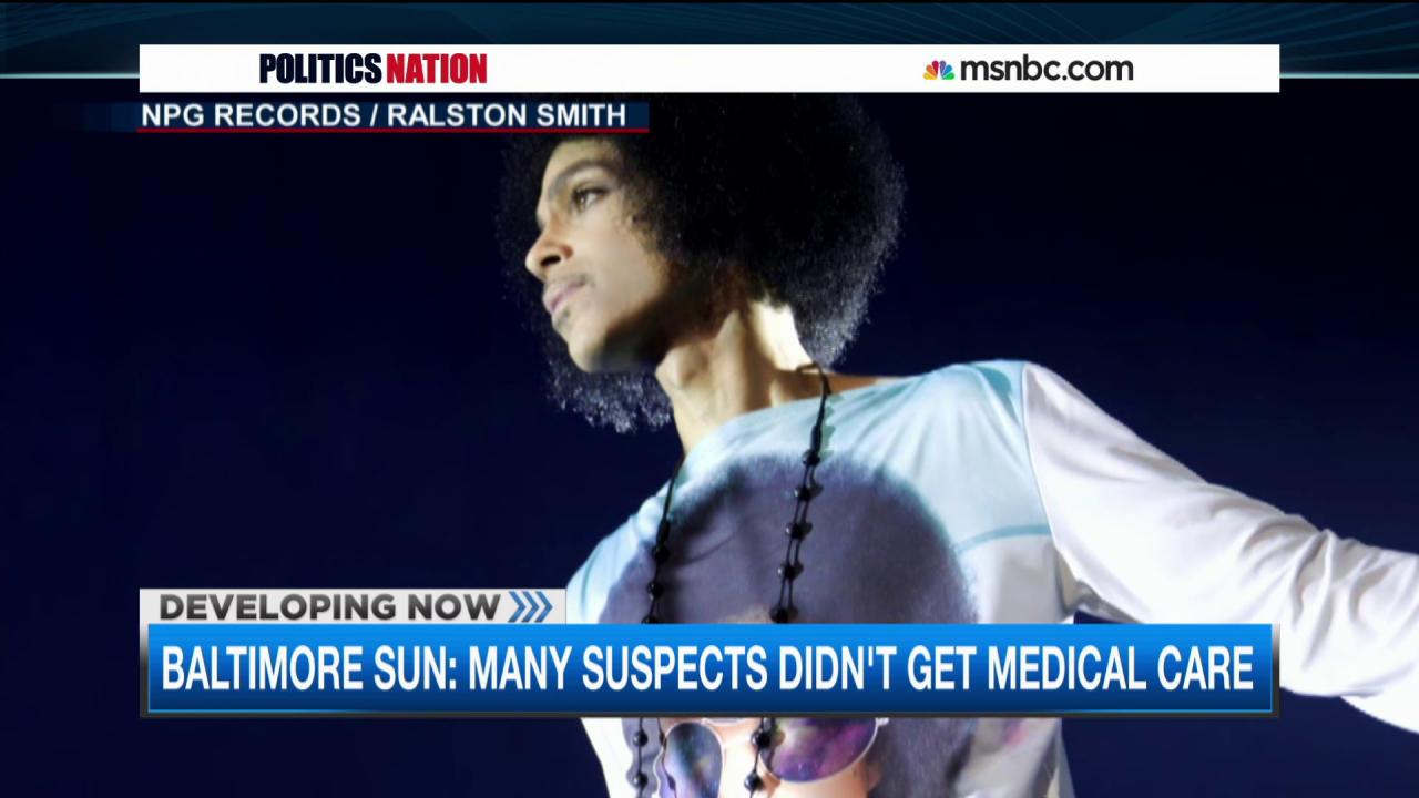 Prince in Baltimore, plus more BPD complaints