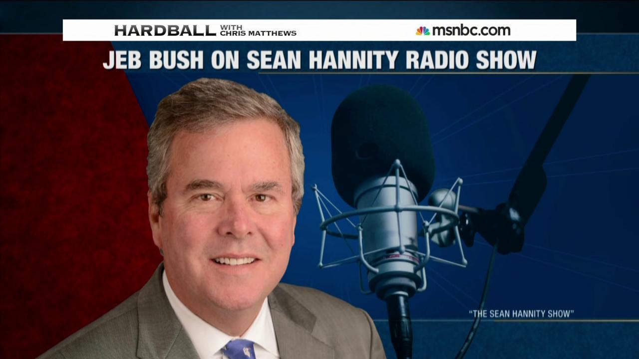 Jeb Bush backtracks his comments on Iraq