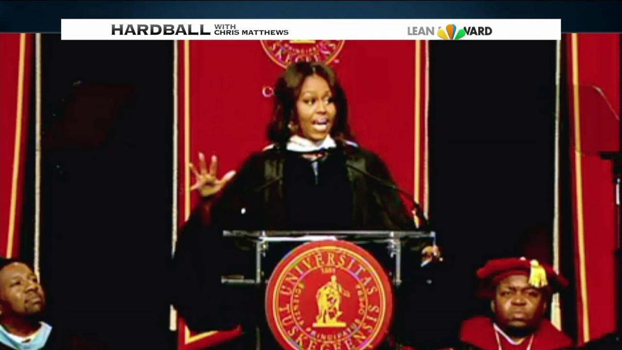 First lady's remarks spark right-wing outcry