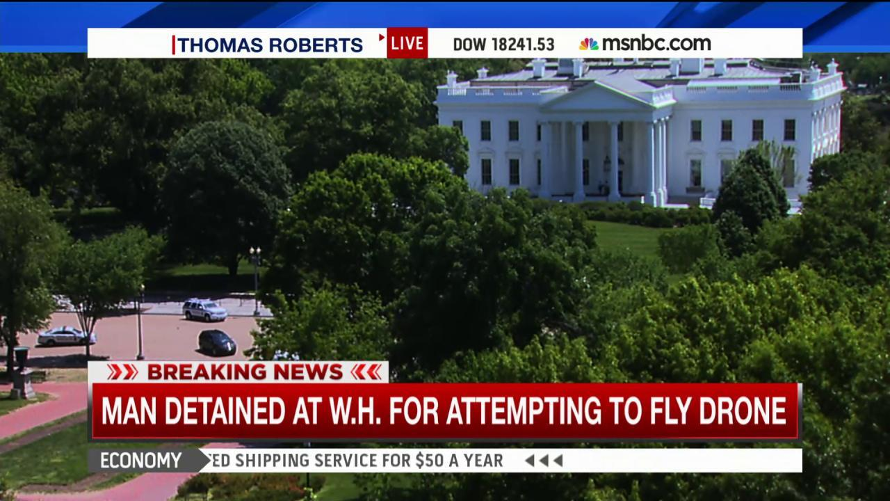 Man detained near WH for attempt to fly drone