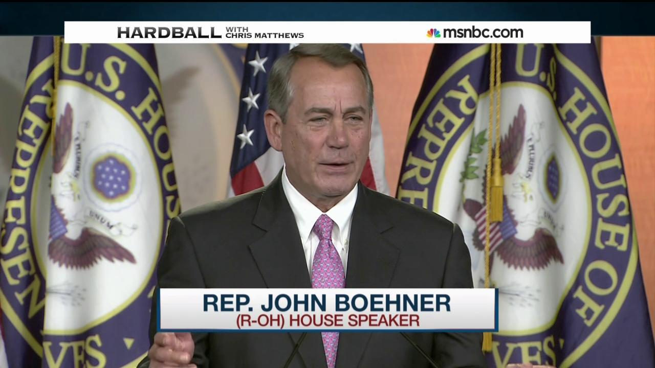 """Boehner: """"Stupid"""" to talk about Amtrak..."""