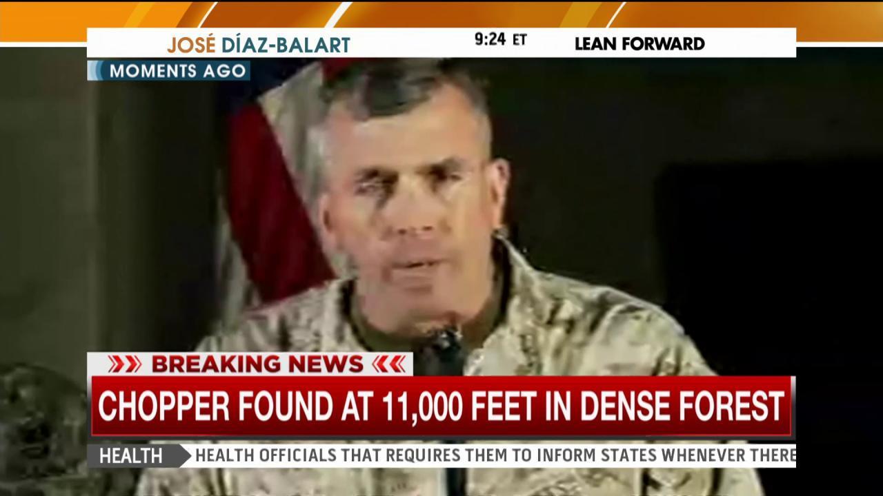 US confirms marine chopper found in Nepal