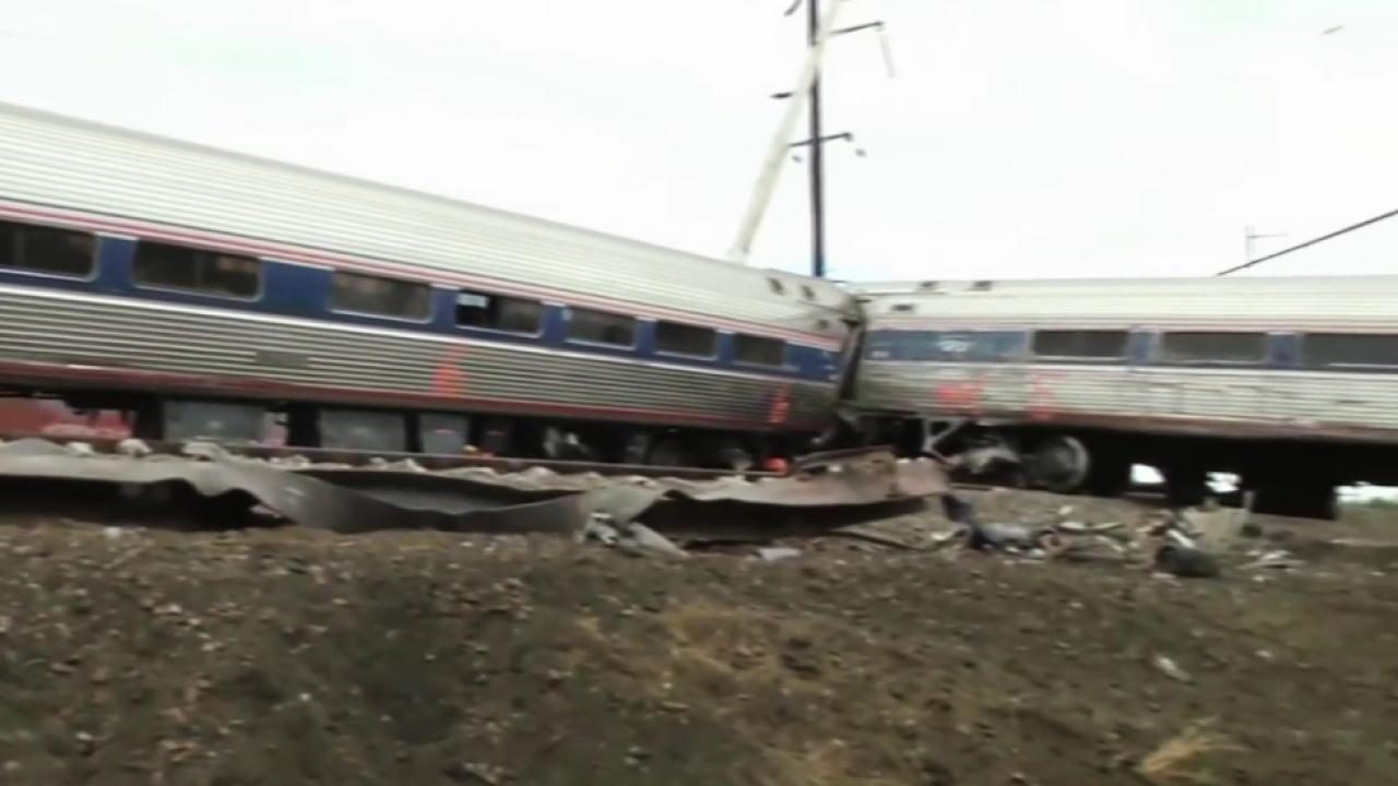 FBI investigating whether object struck train