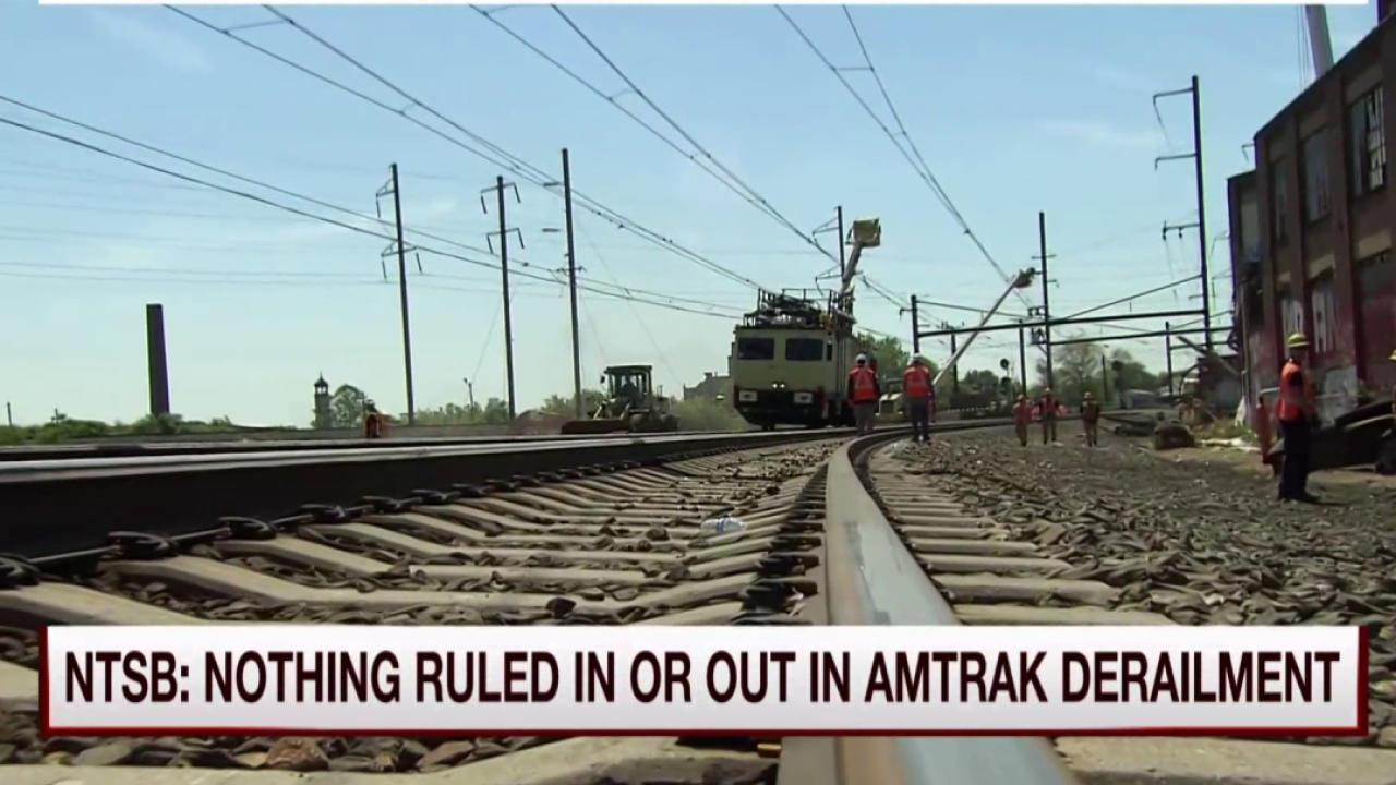 Northeast corridor Amtrak service resumes