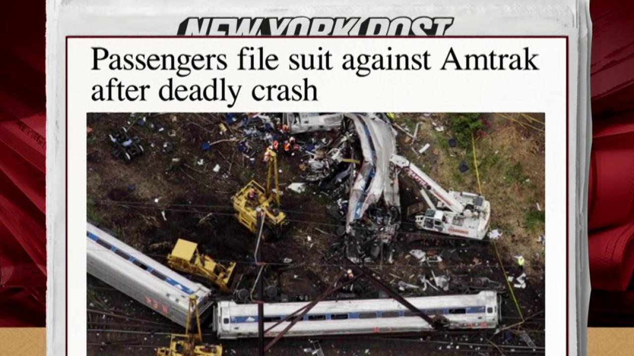 Passengers file suit against Amtrak