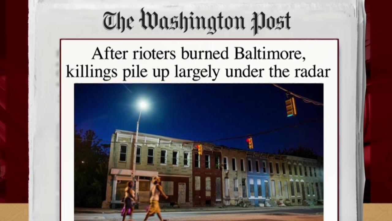 Report: Killings on the rise in Baltimore