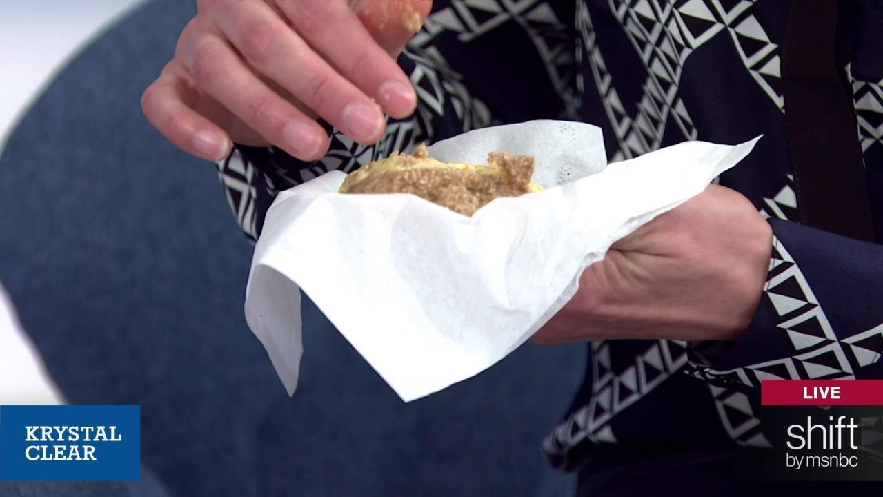 Carol Alt, Krystal Ball share raw donut....