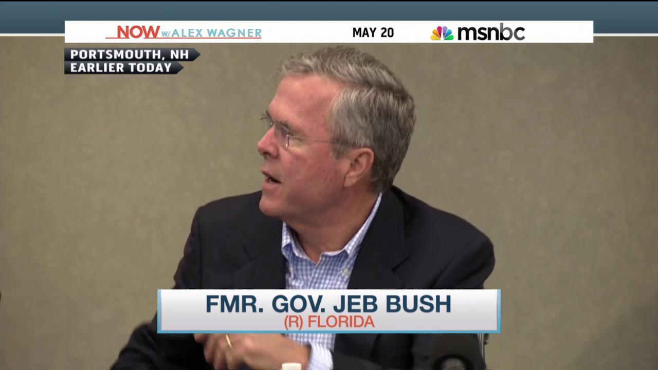 Jeb on Iraq fumble: 'It got a little bumpy'