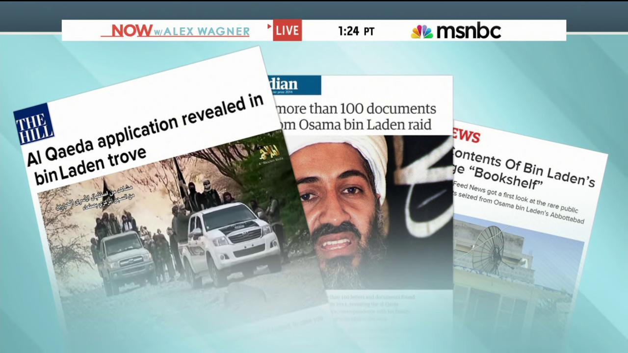 What was in Osama bin Laden's library?