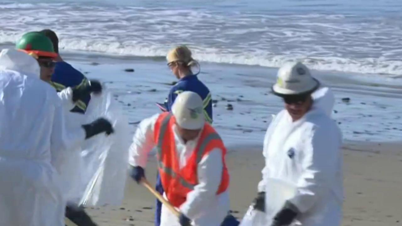 CA oil spill creates state of emergency