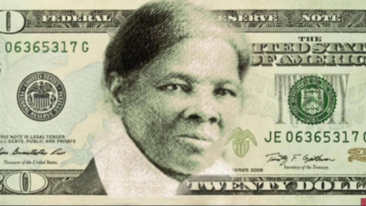 The case against Harriet Tubman on the $20