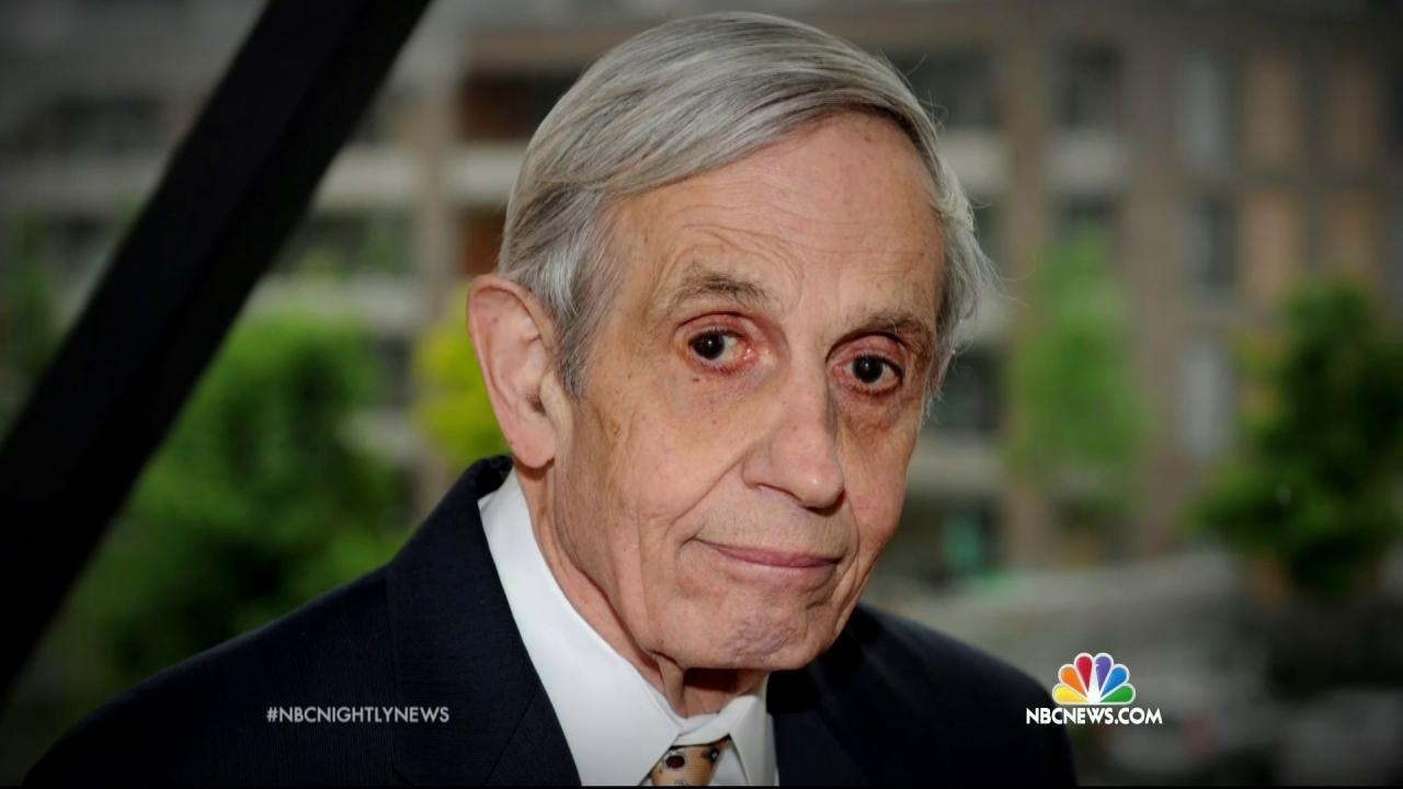 John Nash, Nobel Prize Winner and Subject of 'A Beautiful Mind,' Killed in Car Crash