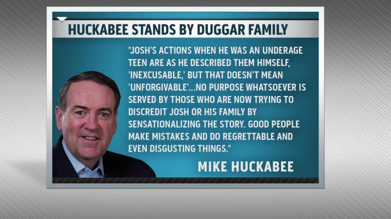 Mike Huckabee's questionable defense