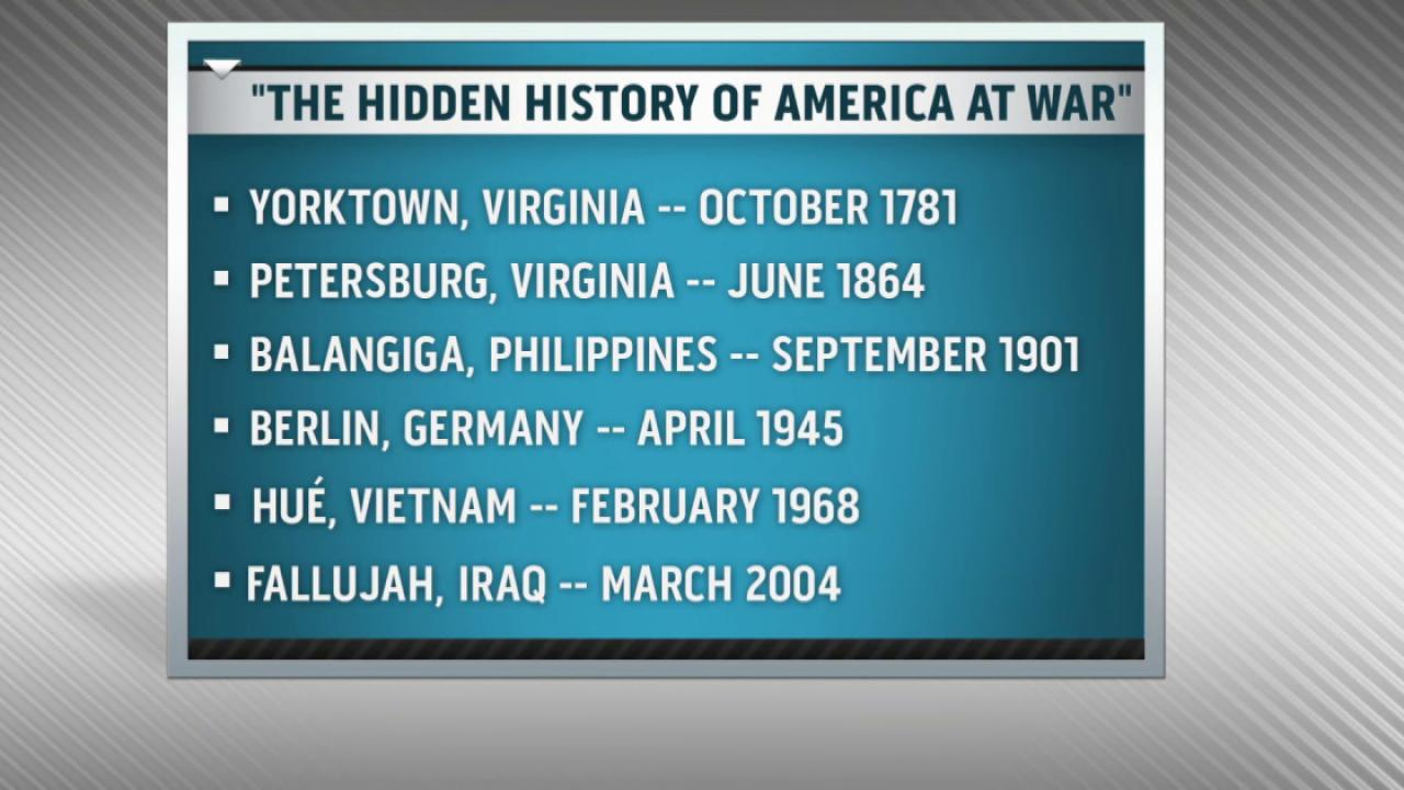 Book examines America's war history