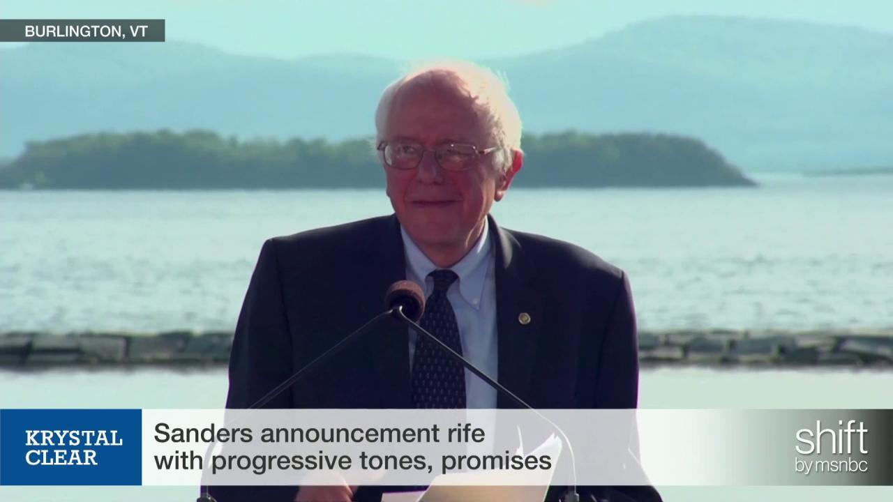 Can Bernie Sanders win?