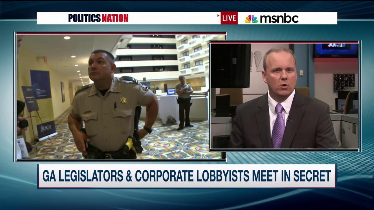 ALEC facilitating backroom legislative deals?
