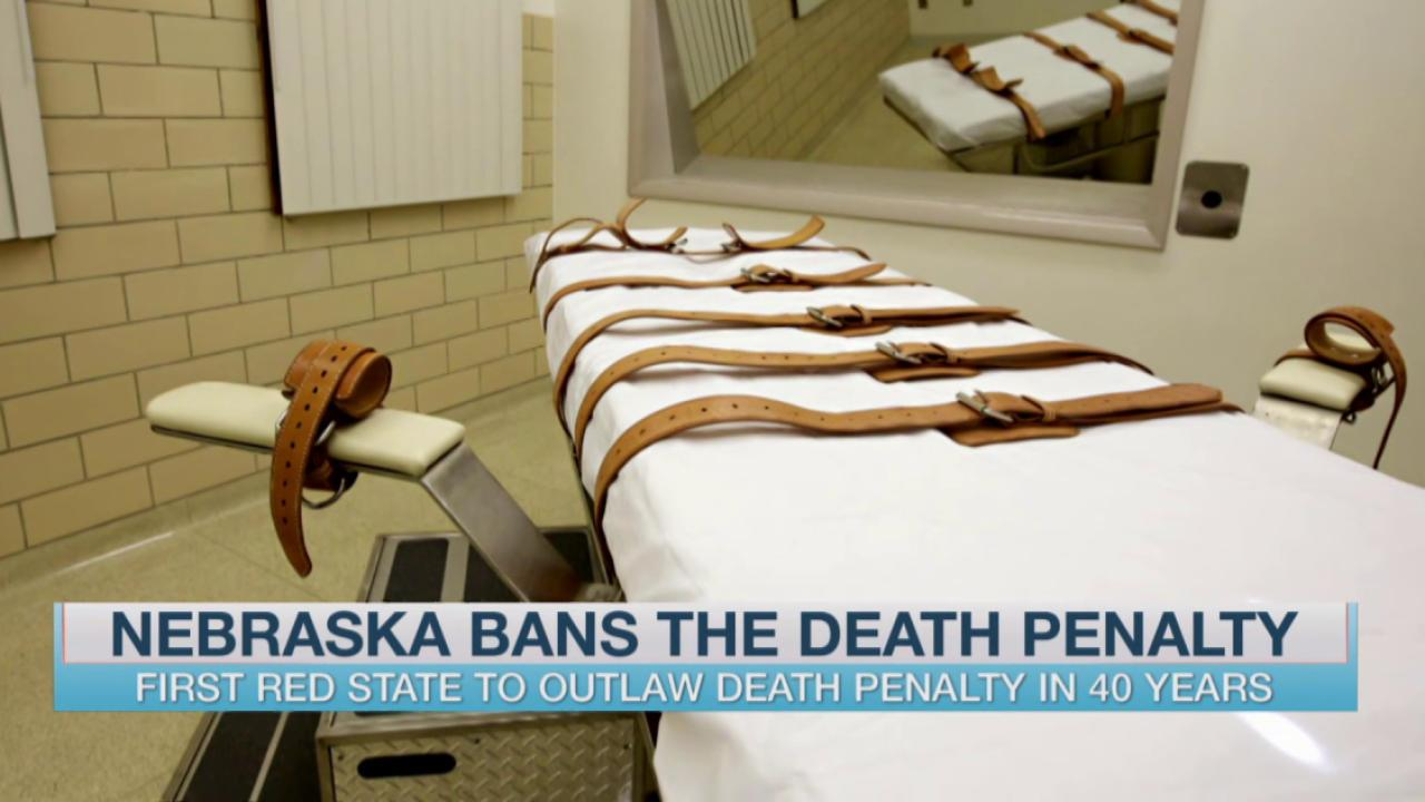 NE becomes 19th state to ban death penalty