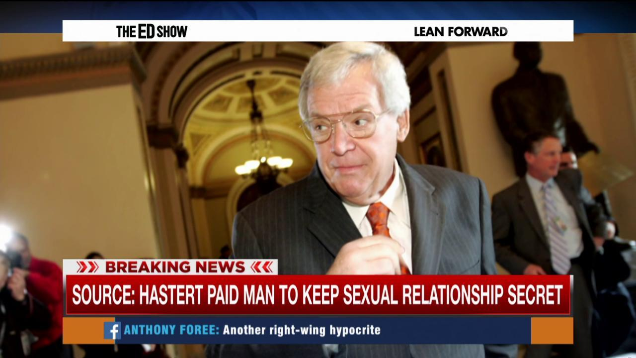 Report: Hastert paid to keep sexual...