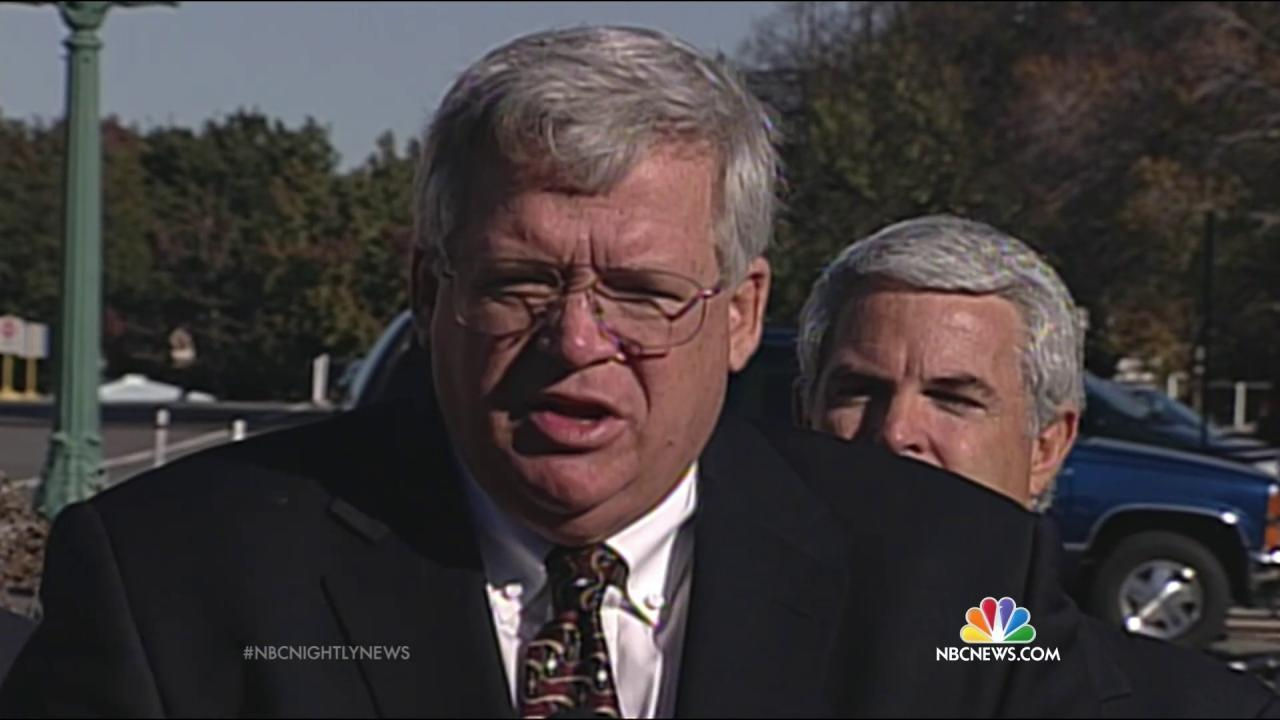 Judge on Dennis Hastert Case Donated at Least Twice to His Campaigns