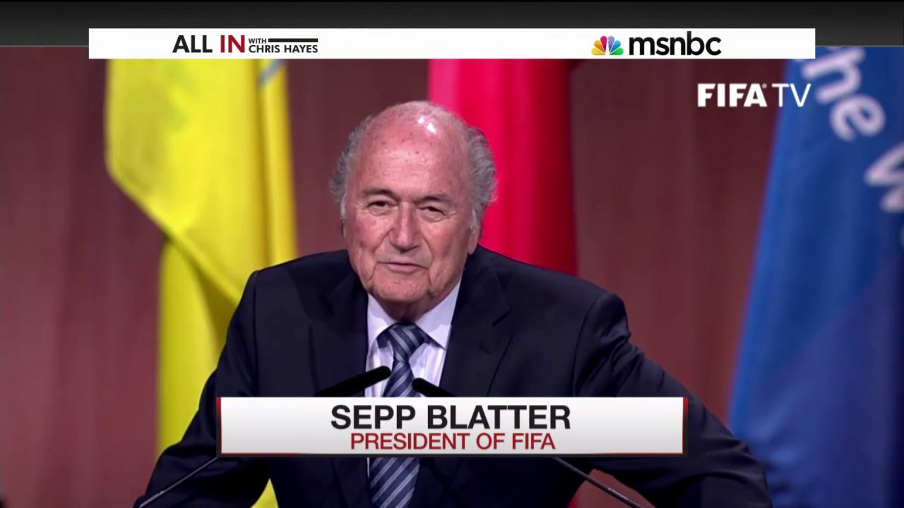 Sepp Blatter re-elected as President of FIFA