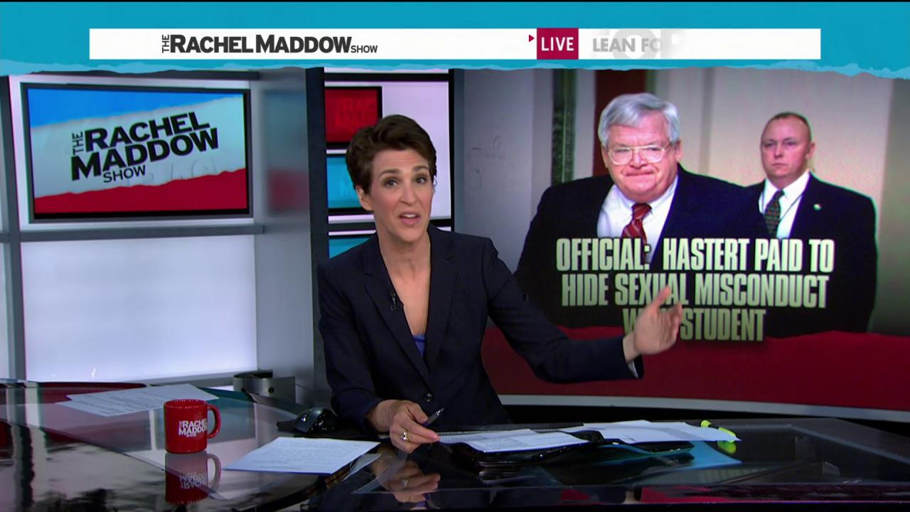 Hastert case raises questions of more charges