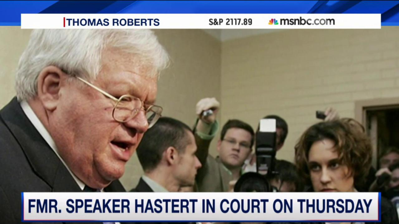 Dennis Hastert to be arraigned this week
