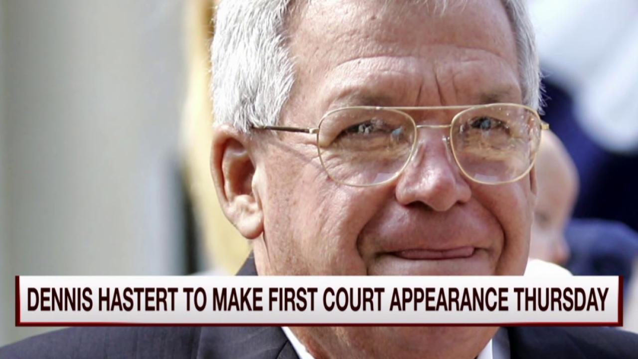 Hastert set to make first court appearance