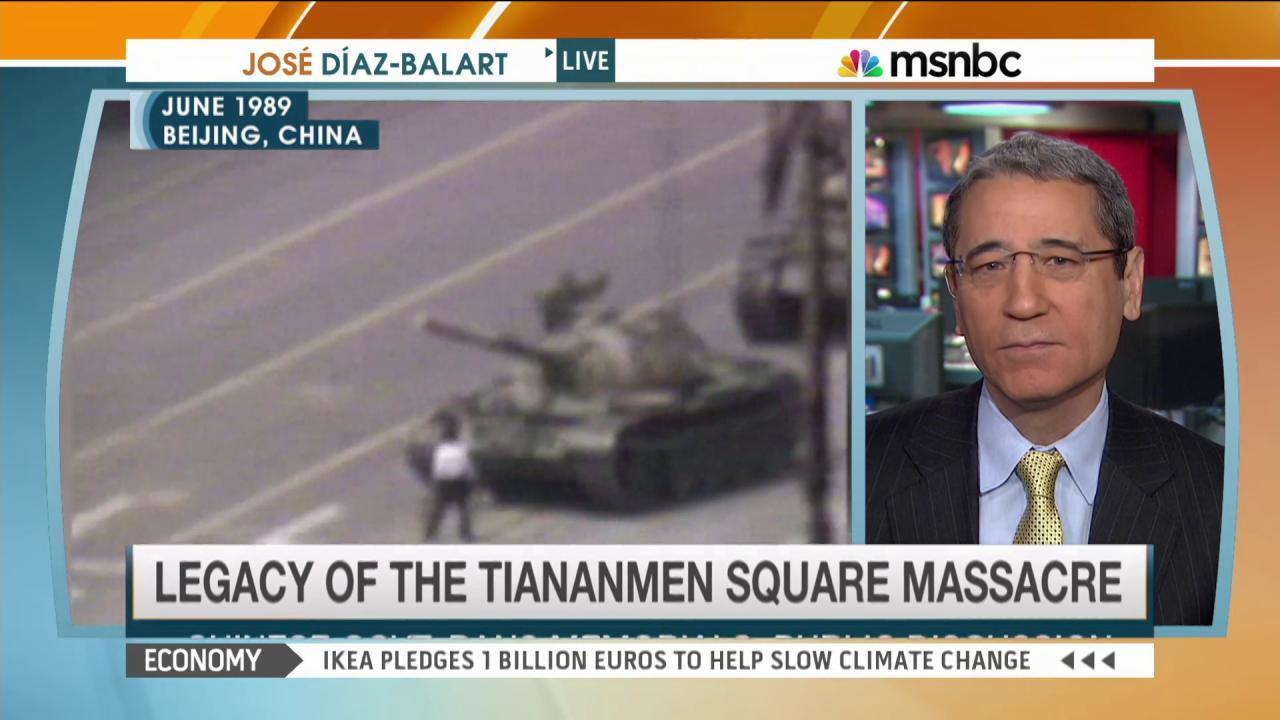 1989 Tiananmen massacre leaves strong wounds