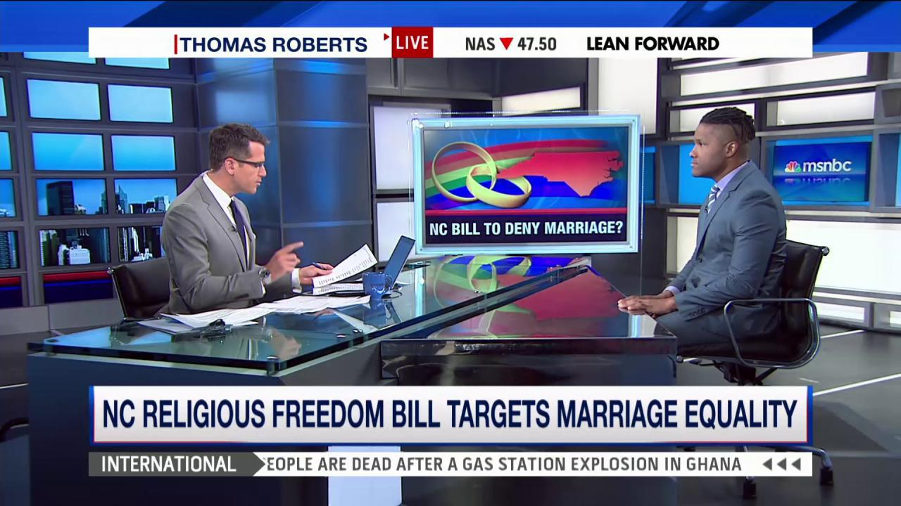 Religious freedom bill targets marriage...