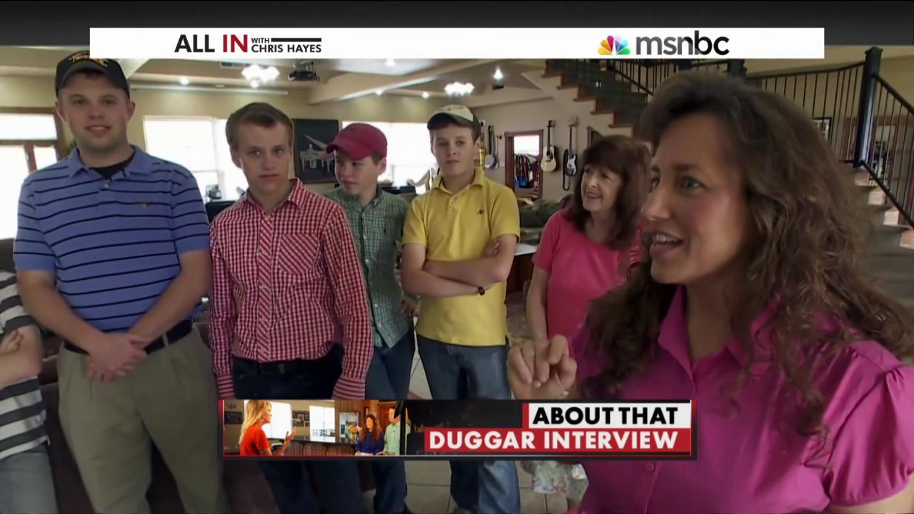 What could the Duggars have done differently?