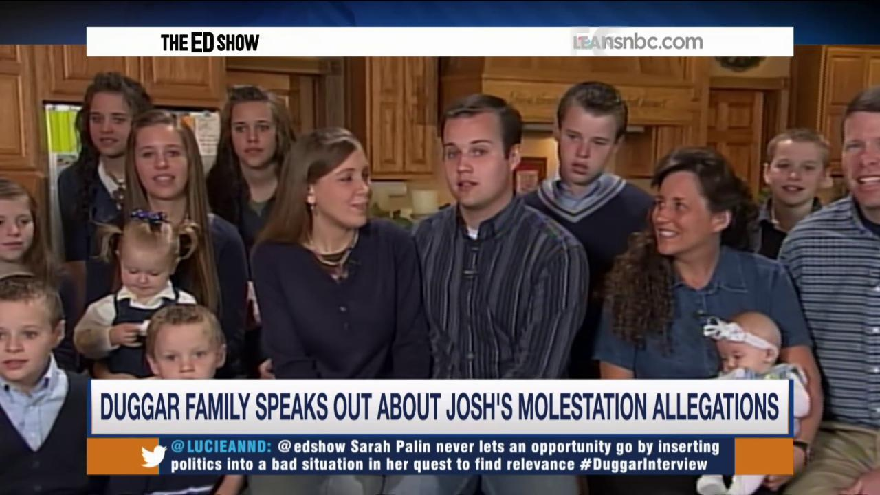 Duggar sisters speak out