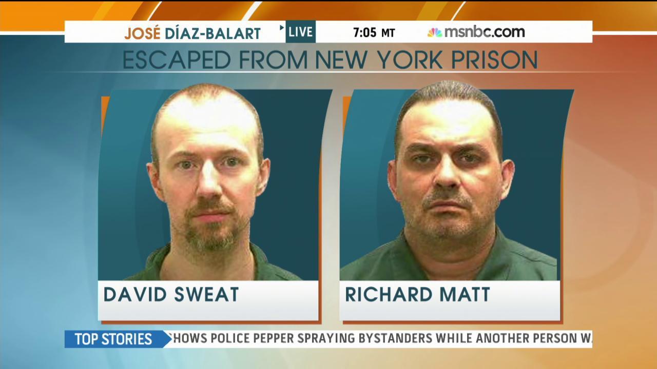 Massive manhunt underway for escaped killers