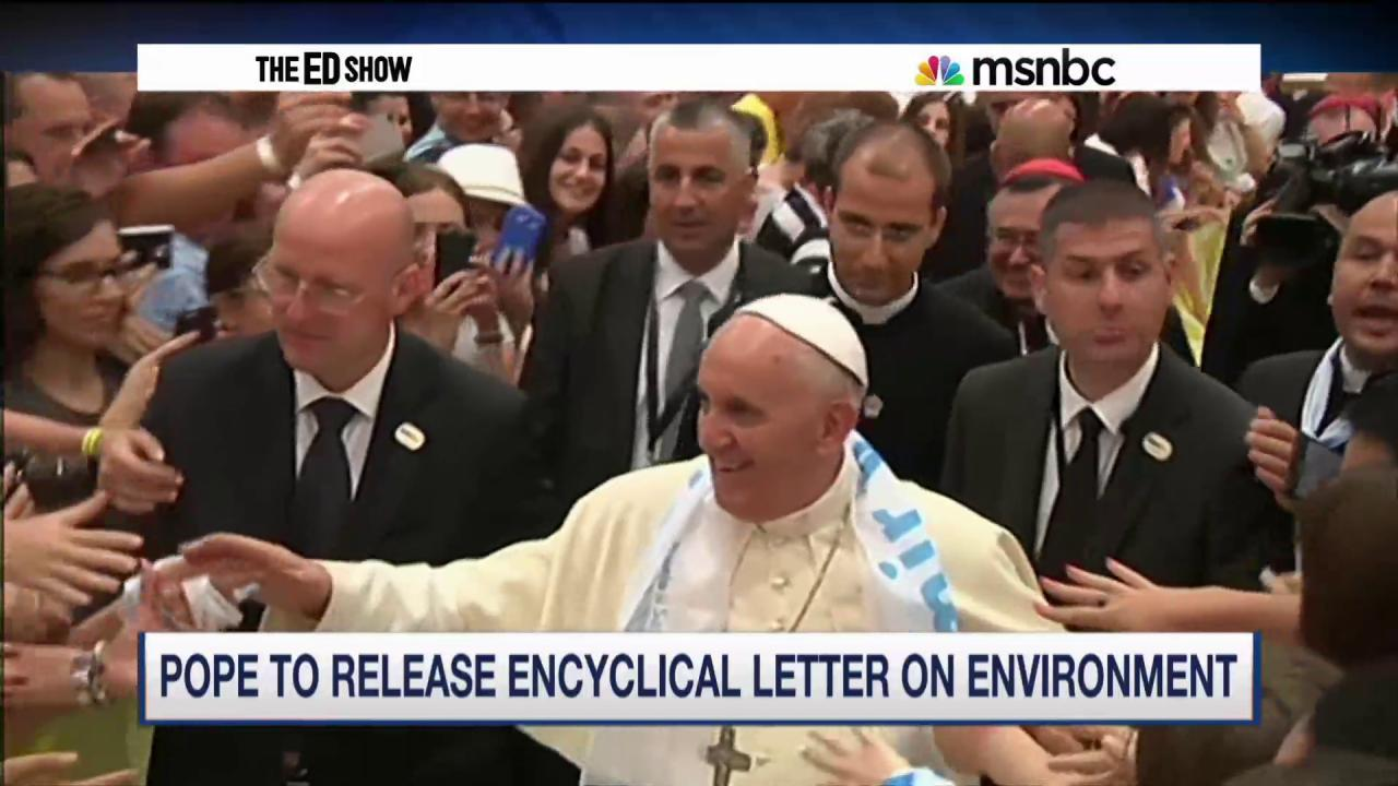 Santorum lectures Pope on climate change
