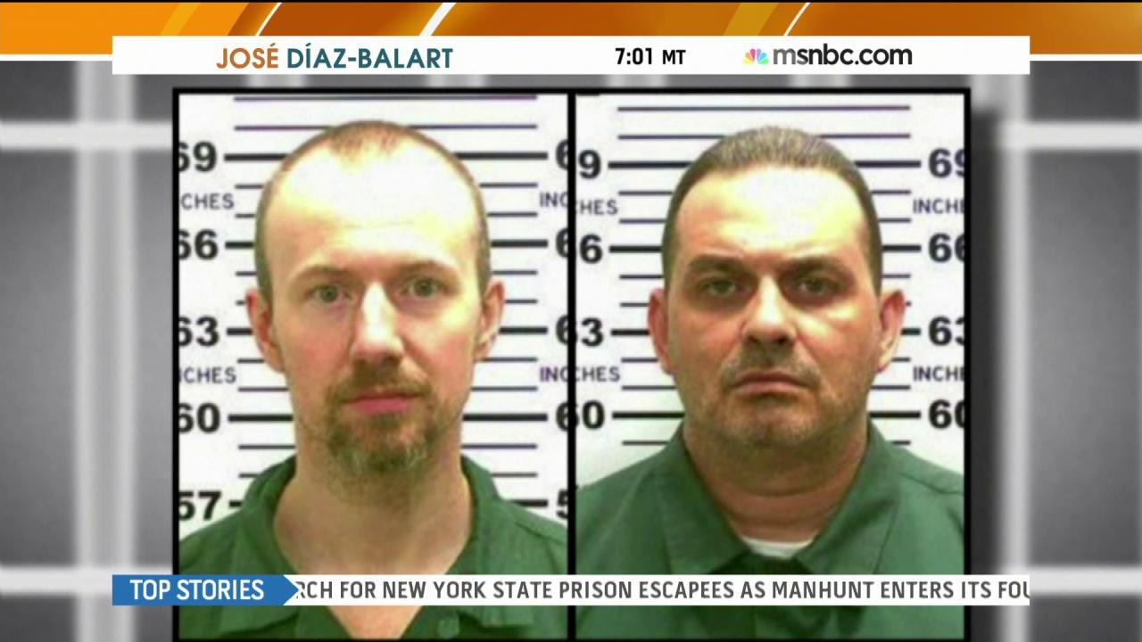 Escaped inmates still on the loose