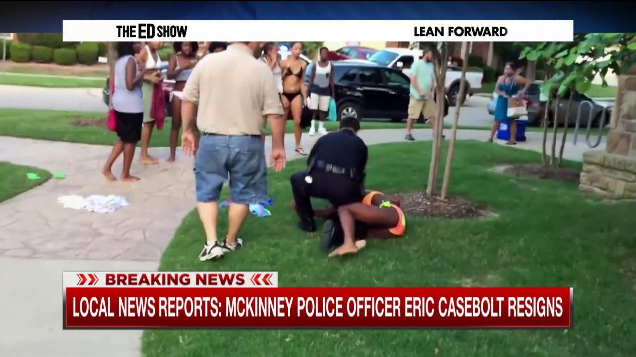 Reports: McKinney officer resigns