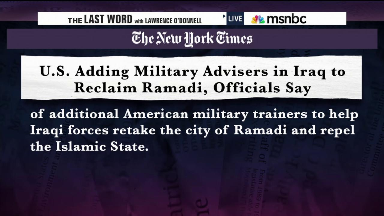 Breaking News: More U.S. troops to Iraq