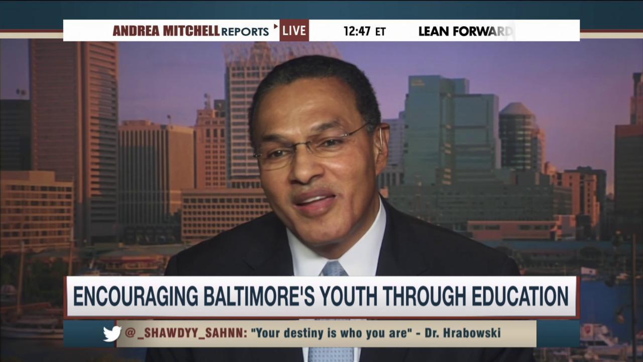 Encouraging Baltimore youth through education