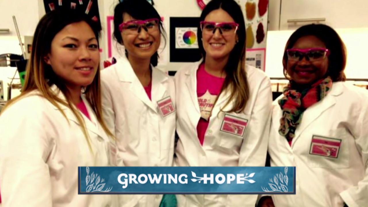 Growing Hope through Girls Inc.