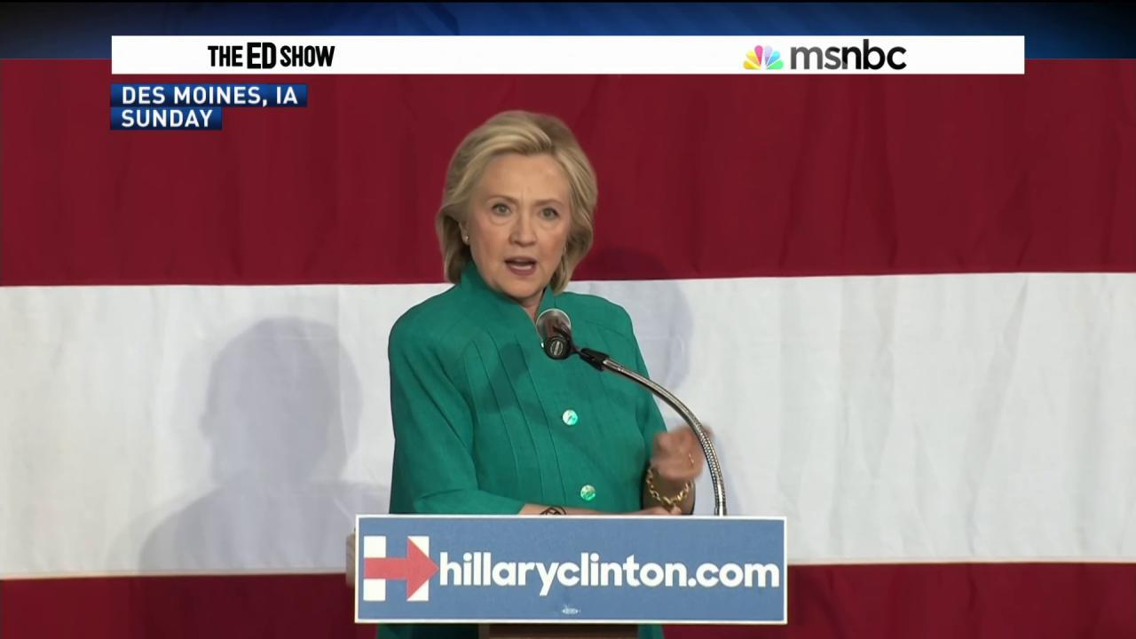 Clinton avoids clear position on trade again