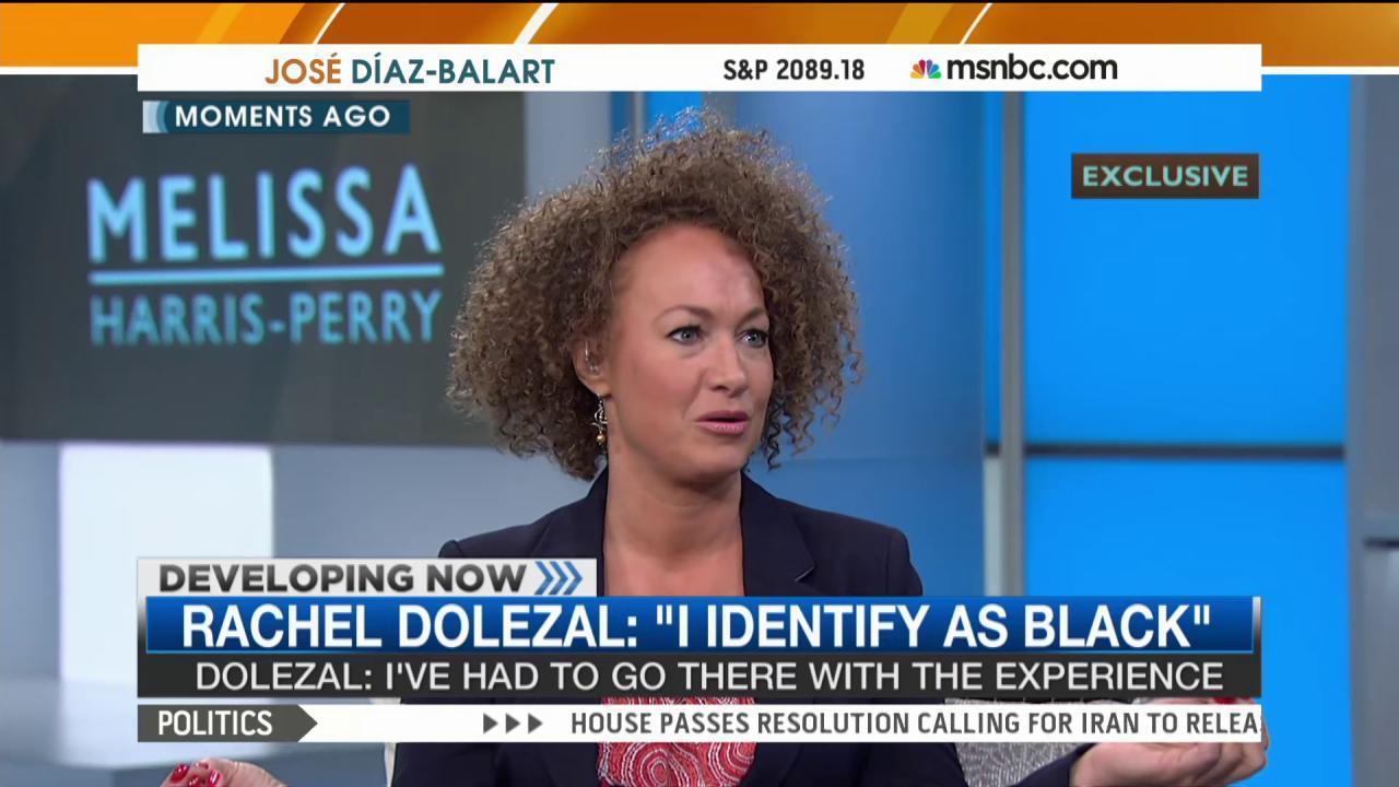 Rachel Dolezal speaks about racial identity
