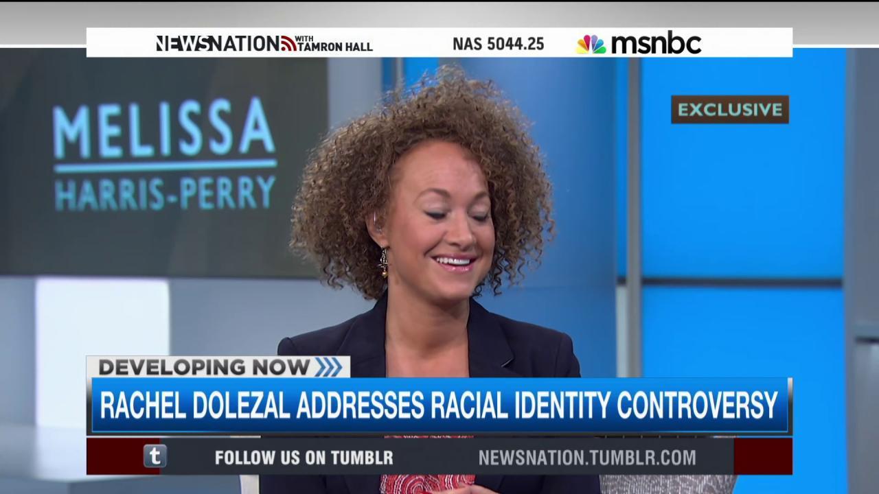 Rachel Dolezal addresses racial identity...