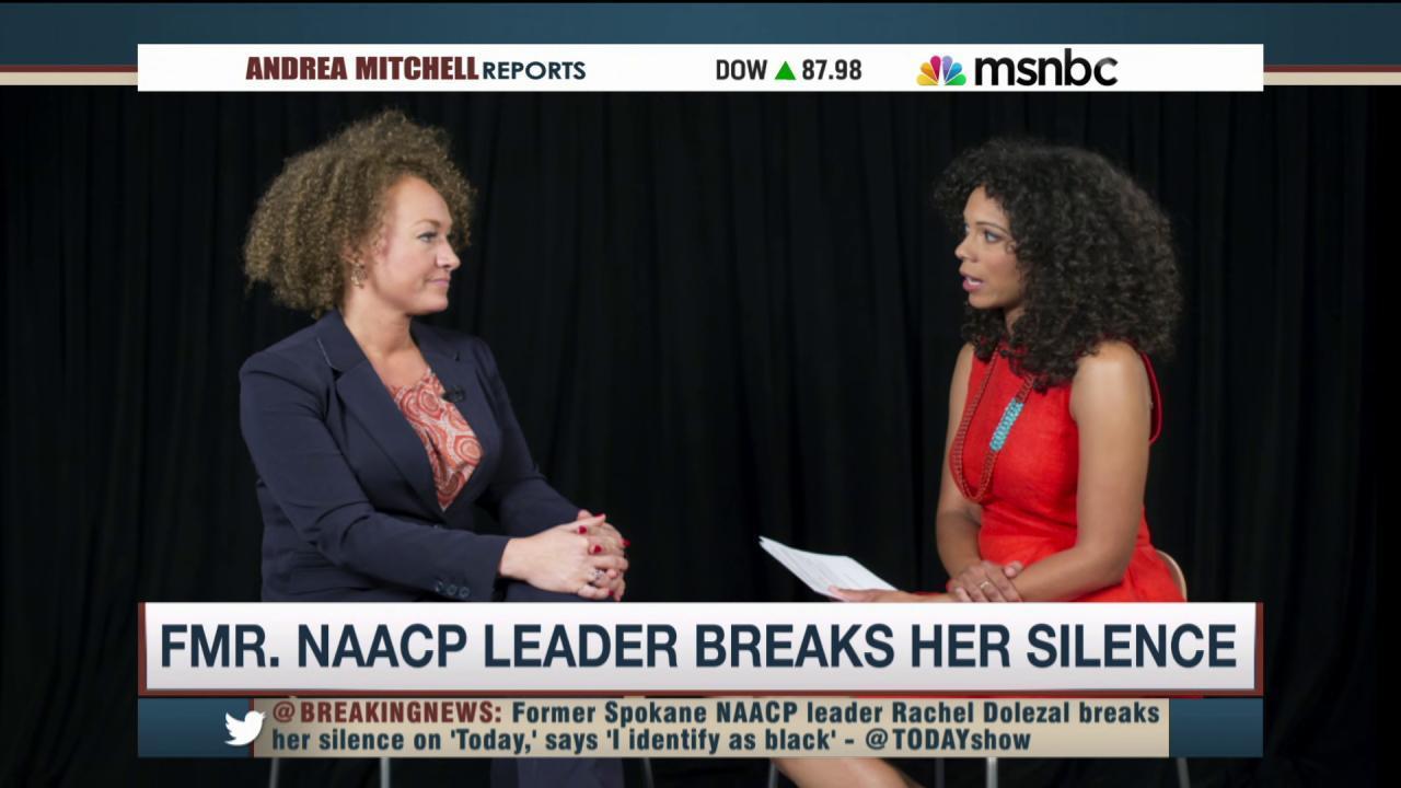Rachel Dolezal addresses race, privilege