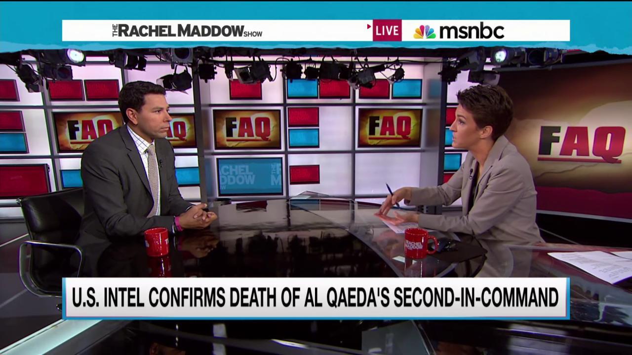 Terror plotter follows killed al Qaeda chief
