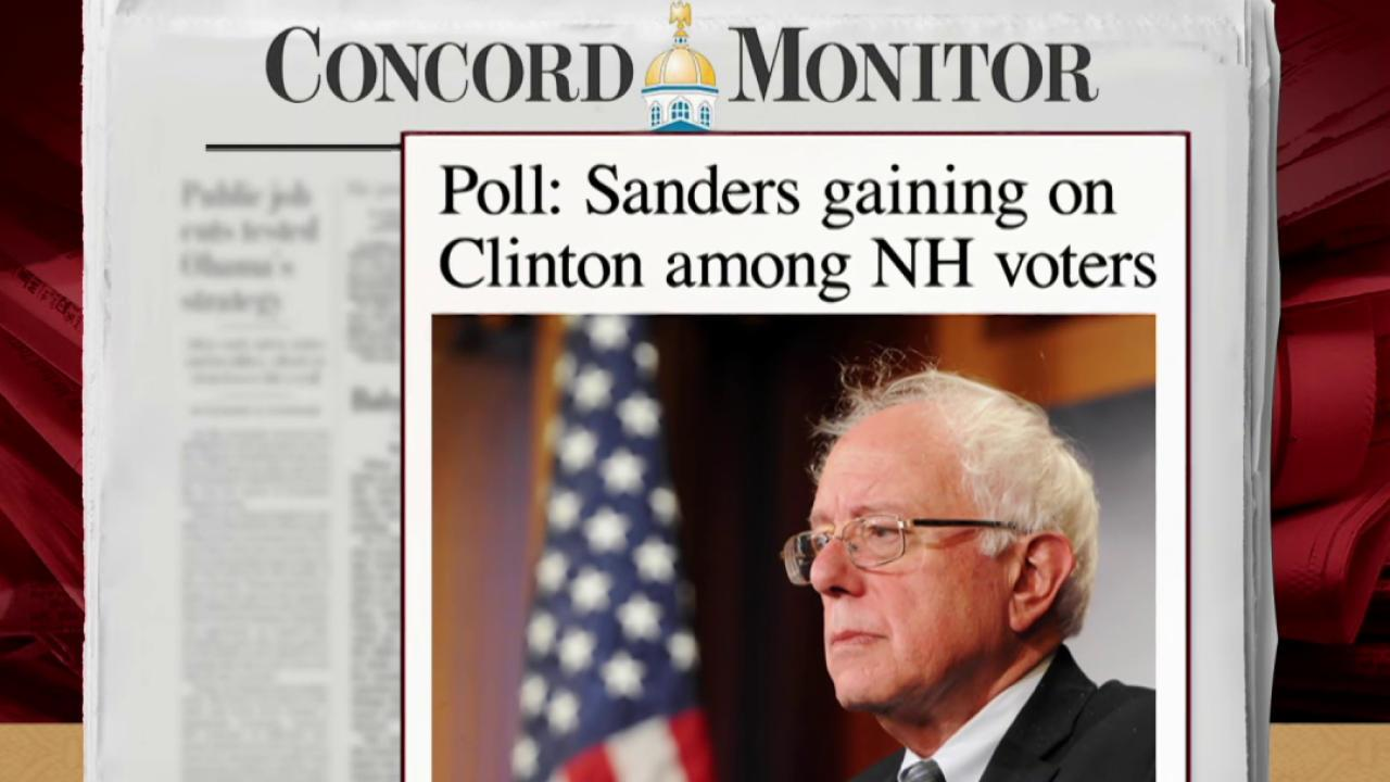 Sanders continues to climb in polls