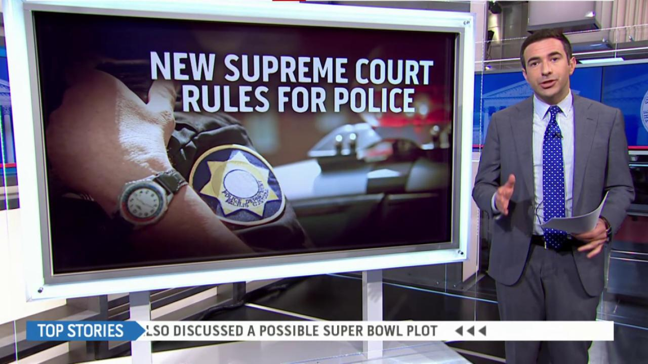 SCOTUS to deliver ruling on police conduct