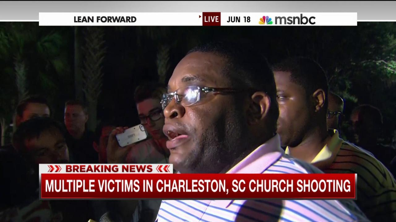 'We want peace' in Charleston, SC