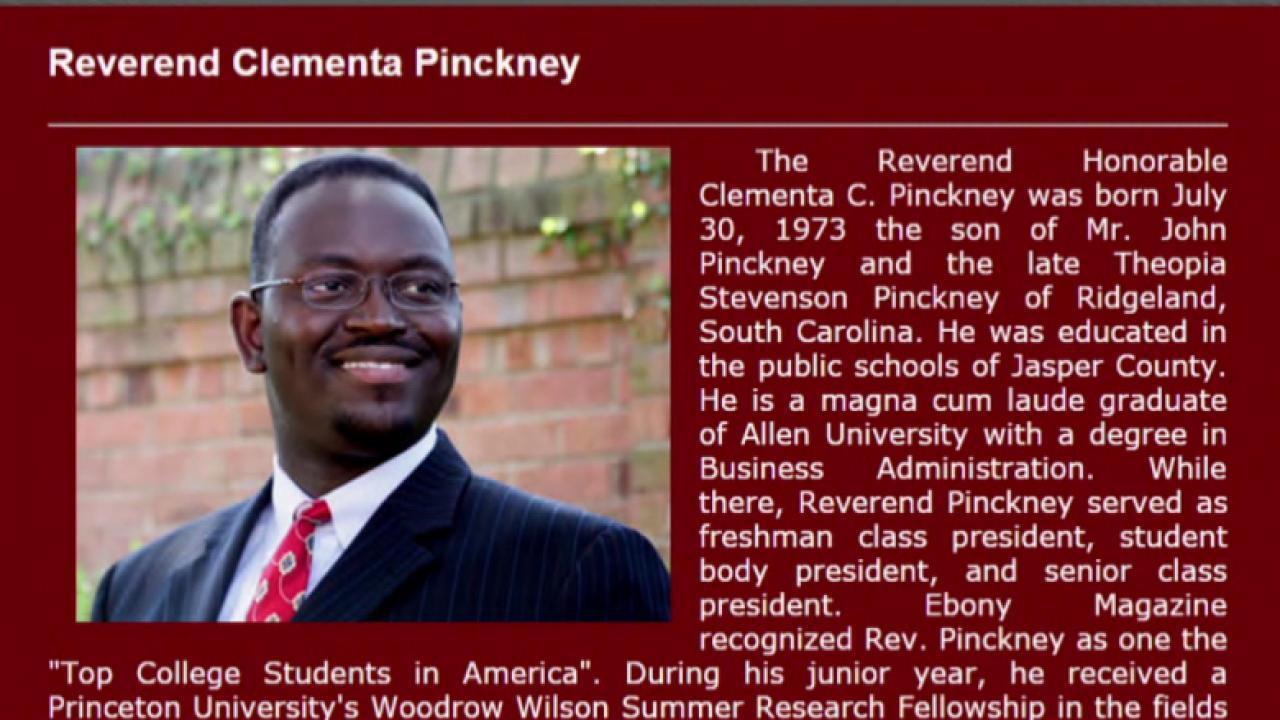 Rev. Clementa Pinckney was 'a brave man'