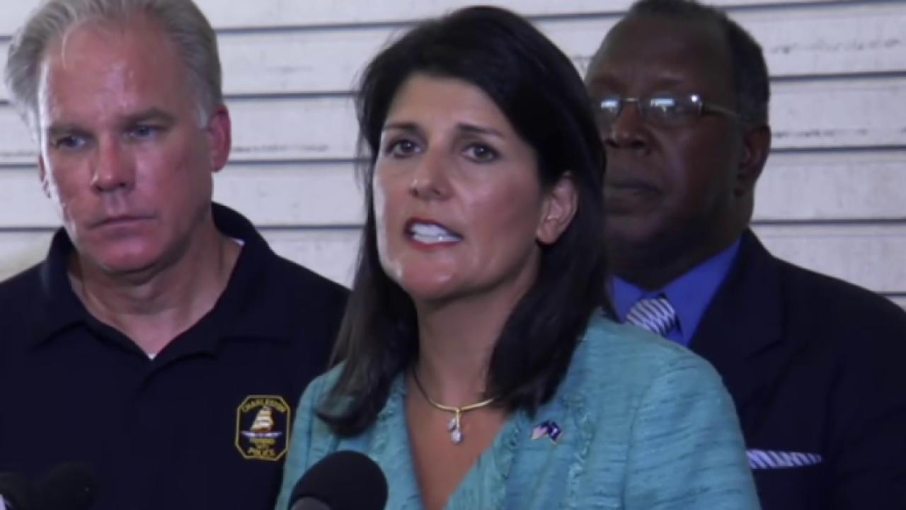 SC gov.: Heart of South Carolina is broken